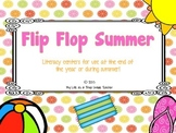 Flip Flop Summer- Literacy Activities for Bigger Kids