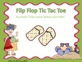 Flip Flop Tic Tac Toe Numbers That Come Before and After