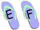 Flip Flop Word Wall Letters