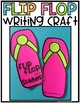 Flip Flop Writing Craft and Bulletin Board