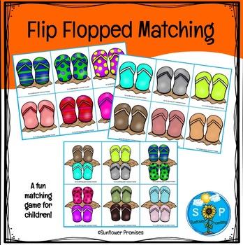 Flip Flopped Matching Game