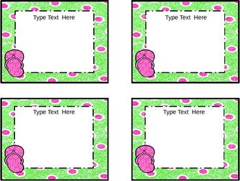 Flip Floppin' Task Cards