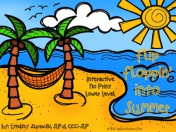 Flip Floppin' into Summer Interactive No Print
