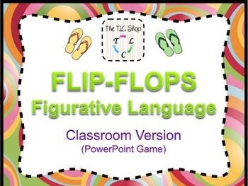 {DISCOUNTED ITEM} Flip-Flops Classroom PowerPoint Game