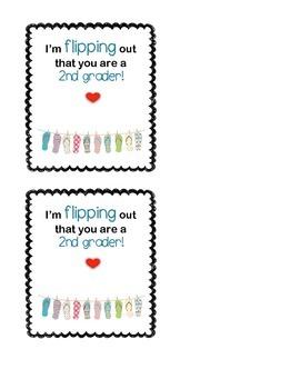 Flip Flops Gift Tag