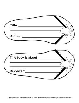 Flip Flops Summer Book Report