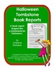 Halloween Tombstone Book Reports