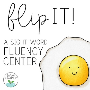 Flip It! A Sight Word Game {Pre-Primer List}