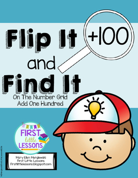 Flip It And Find It On The Number Grid: Add One Hundred (+100)