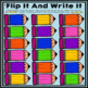 Flip It And Write It: Alphabet Letters