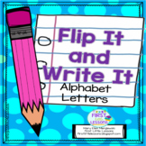 Flip It And Write It: Alphabet Letters