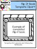 Flip It Book Template Clipart