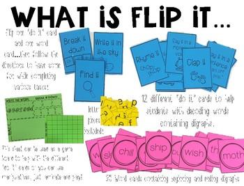 Flip It! Digraphs