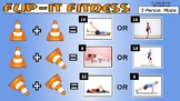 Flip-It Fitness! - Powerpoint version with Animated GIFs -