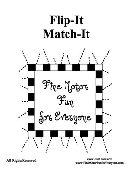 Flip-It Match-It Self-Checking Book - Colors - Word / Shade / Picture - Center
