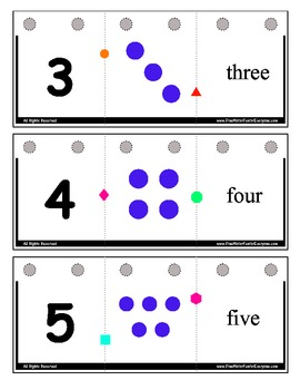 Flip-It Match-It Self-Checking Book - Numbers 0 to 20 - Digits / Dots / Words