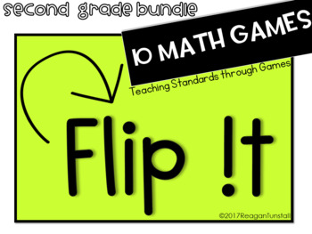 Flip It Math Games Second Grade
