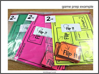 Flip It Math Games Second Grade