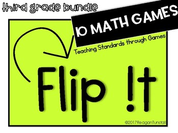Flip It Math Games Third Grade