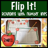 Flip It! Rounding with Number Lines