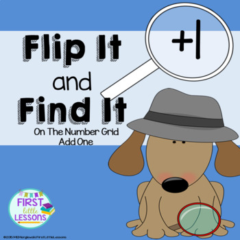 Flip It and Find It On The Number Grid: Add One (+1)