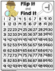 Flip It and Find It On The Number Grid: Subtract One (-1)