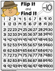 Flip It and Find It On The Number Grid: Subtract Ten (-10)