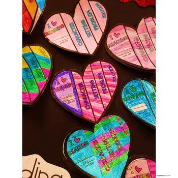 Flip Its! Heart Reading Response Flipbook