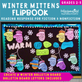 Flip Its! Mittens Reading Response Flipbooks