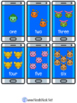 Flip & Match Pokemon Go- 4 Activity Set for Numbers 1-10,