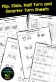 Flip, Slide & Turn Worksheets