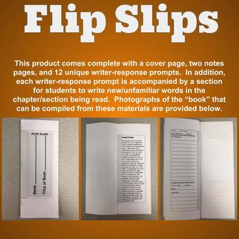 Flip Slips - A During-Reading Approach that Can Be Used for Any Novel!