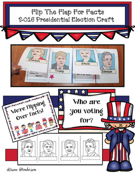 Flip The Flap For Facts: 2016 Presidential Election Writin