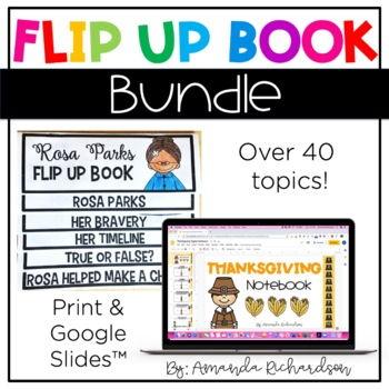 Flip Up Book BUNDLE