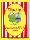 Flip Up! Center Game for 2.NBT.6: Add up to four two-digit numbers