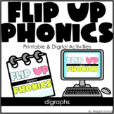 Flip-Up Phonics Digraphs
