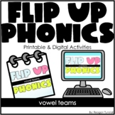 Flip-Up Phonics Vowel Teams