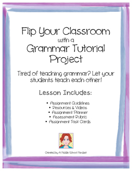 Flip Your Classroom, Grammar Video Tutorial Project