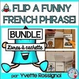 La lecture facile avec petits livres   French Reading with Flip Books BUNDLE