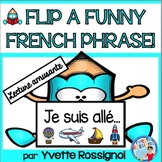 Lecture - French Reading - French Flip Book - (Je suis allé...)