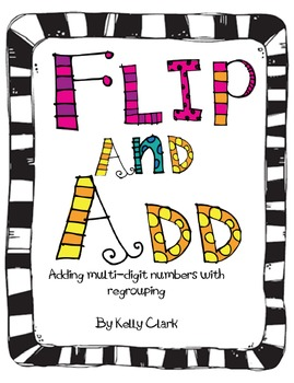 Flip and Add 4th Grade Common Core 4.NBT.4 game