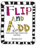 Flip and Add 4th Grade Common Core 4.NBT.4 game