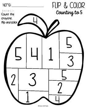 Flip and Color {Math Activity}