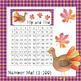 Flip and Find 1-100 and 1-120 (Thanksgiving Theme)