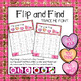 Flip and Find Letter Recognition - (Valentine's Day Theme)