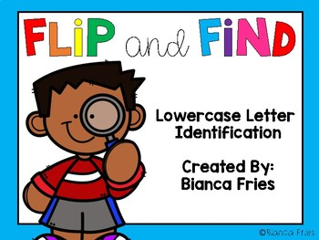 Flip and Find Lowercase Letter Identification