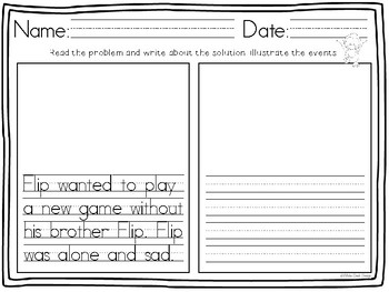Flip and Flop: Response Sheets