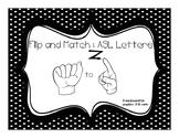 Flip and Match - ASL Alphabet