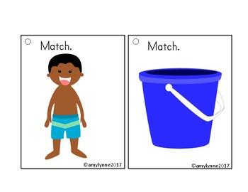 Flip and Match - Beach Matching