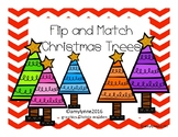 Flip and Match - Christmas Tree Colors